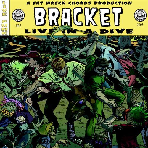 Portada de un disco de Bracket por Rick Remender