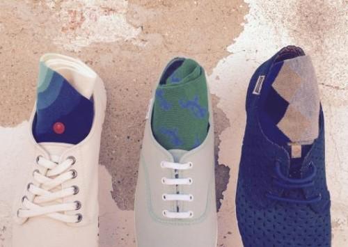Hyper's Bazaar: maridaje de zapatillas y calcetines