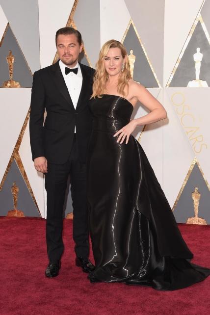 DiCaprio y Winslet