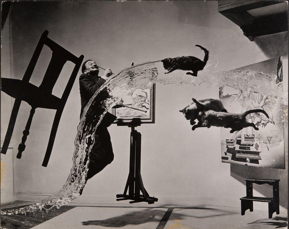 Dali Atomicus, 1948 P. Halsman