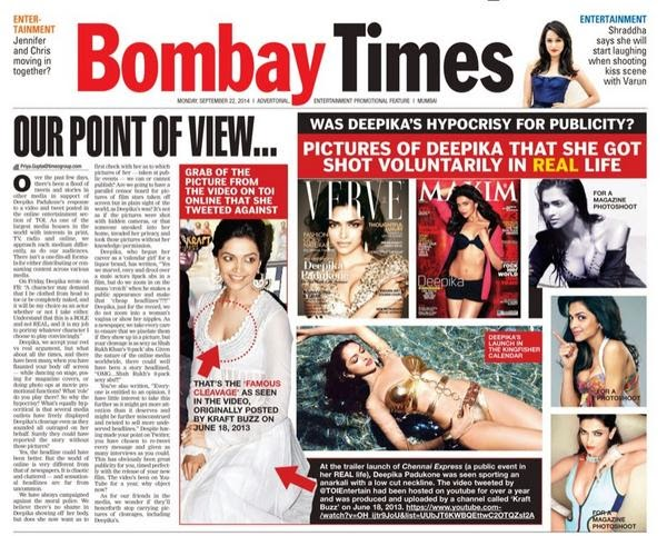 El sexista caso de Times of India