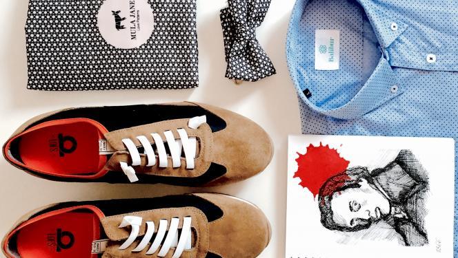 Hyper's Bazaar: camisas, sneakers, libretas y una mula llamada Juanita