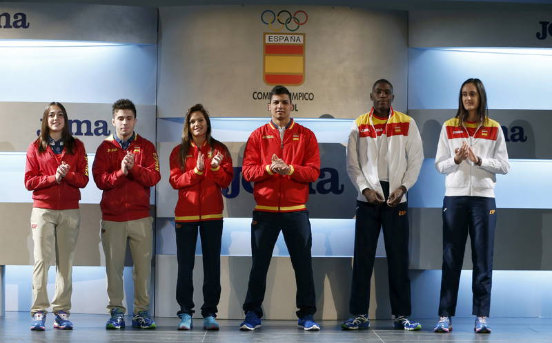 Joma firma el uniforme de los deportistas españoles en Río 2016
