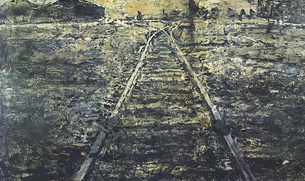 Anselm Kiefer, Iron Path, 1986
