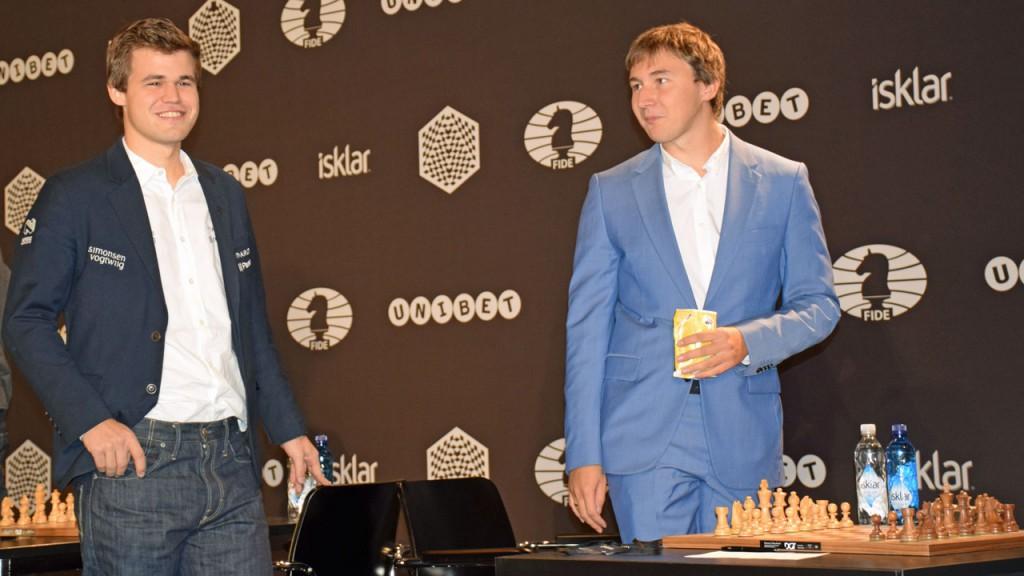 Carlsen y Kariakin jugarán en Nueva York el match por el título mundial.