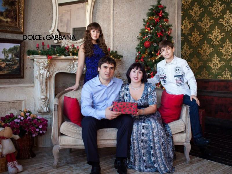 Canon de familia D&G, según la propia marca