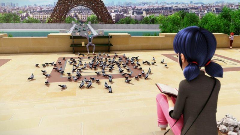 Marinette y la Torre Eiffel