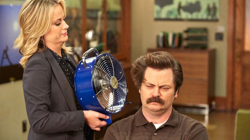 """Ron """"Leslie and Ron"""" de Parks & Recreation"""