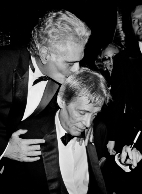 Peter O'Toole y Omar Shariff