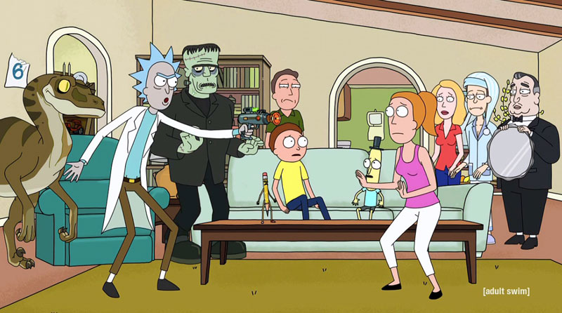 """Total Rickall"" de Rick & Morty"