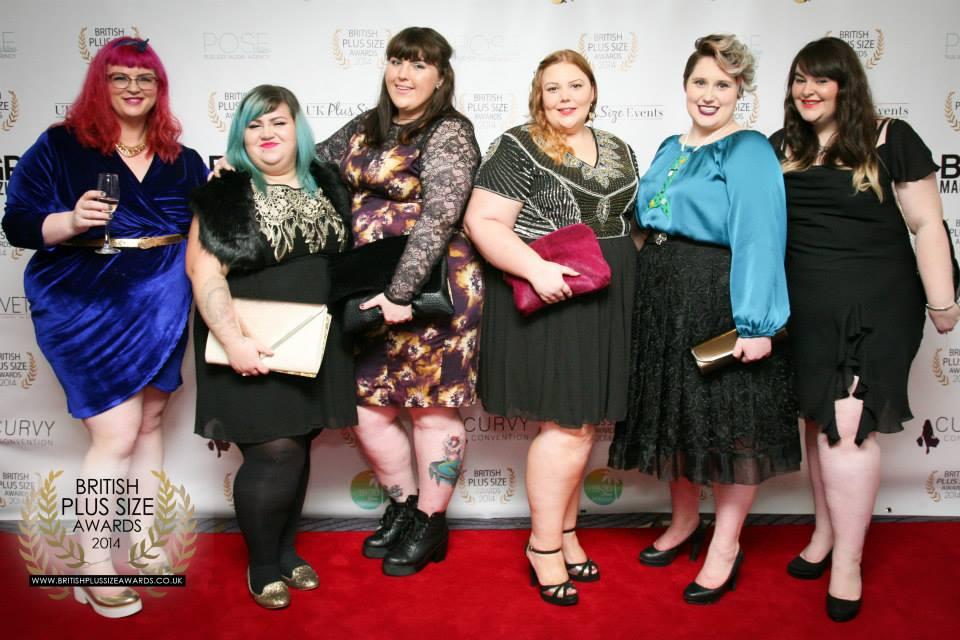 En Reino Unido, se celebra una gala que premia, entre otros actores de la industria, a las bloggers XXL