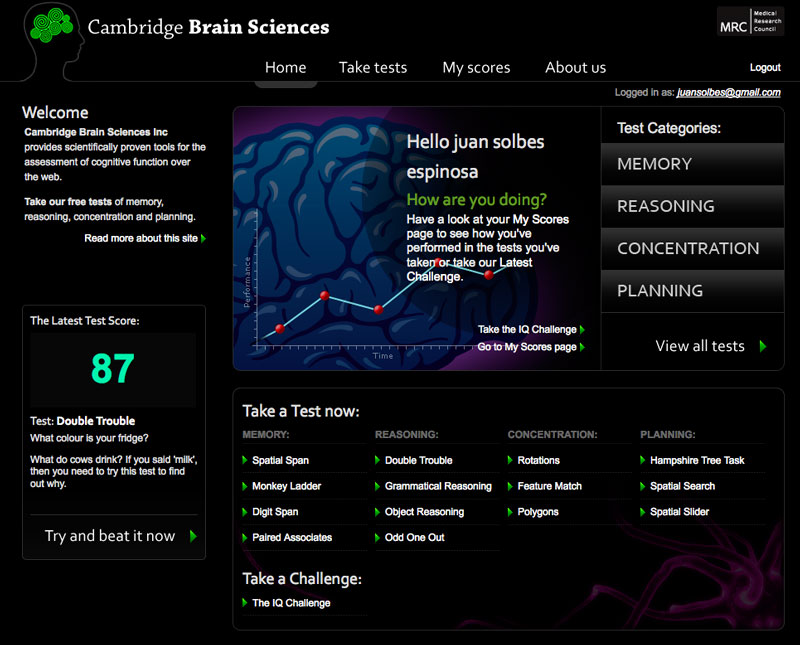 Cambridge Brain Science