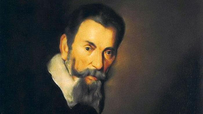 Claudio Monteverdi (1567-1643) pintado por Bernardo Strozzi en 1740