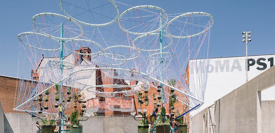 Arquitectura española para aliviar el verano en Nueva York