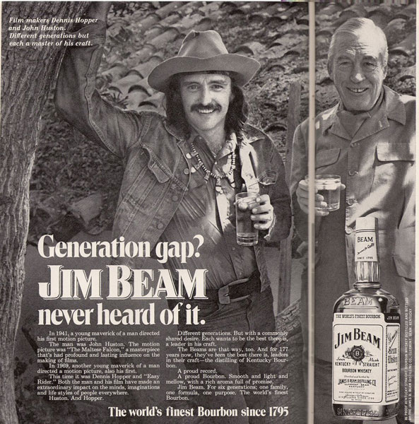 Hopper & Huston for Jim Beam