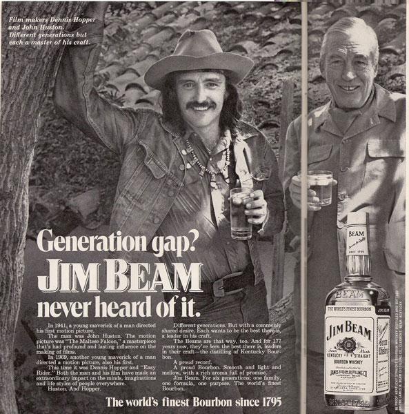 Hopper & Huston for Jim Beam