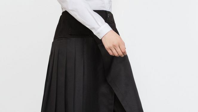 La falsa falda