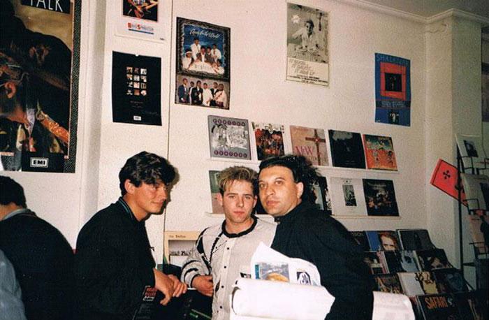 """Fran Lenaers y Tony Vidal """"el Gitano"""" en Zic Zac Records"""
