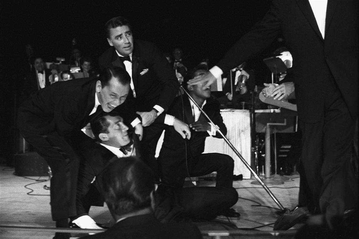 Rat Pack performing in Las Vegas