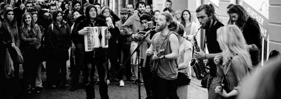 Dublín es folk y músicos callejeros