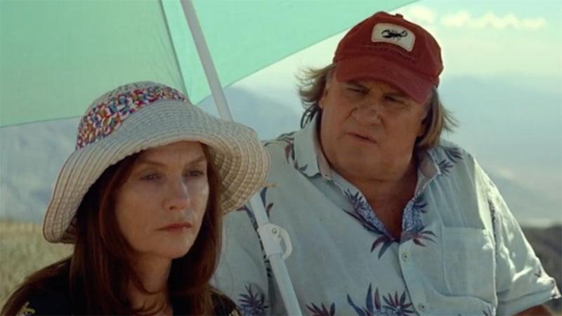 """Isabelle Huppert y Gérard Depardieu en """"Valley of love"""""""