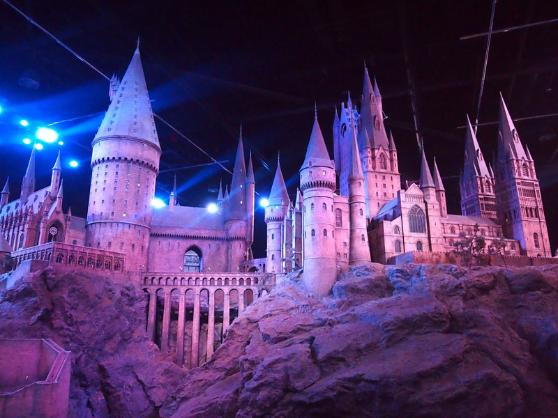 Hogwarts. Making of.