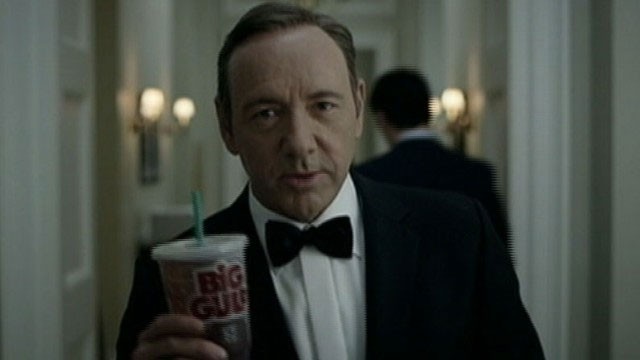 Kevin Spacey. House of cards