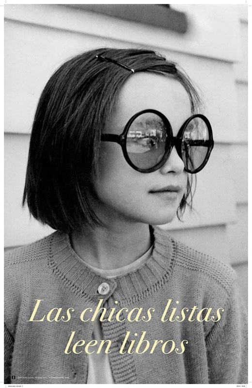 Las chicas listas leen libros