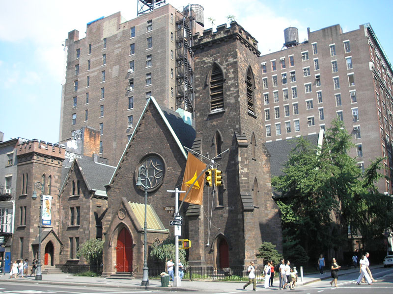 La Iglesia donde residió Limelight en NY