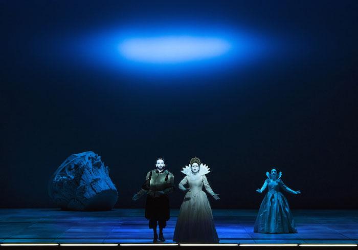 """© Lucie Jansch. Miah Persson y Leonardo Cortellazzi en un momento del tercer acto de """"L'incoronazione di Poppea"""""""
