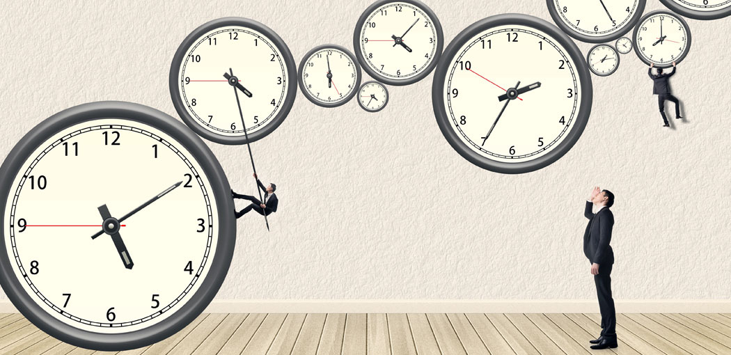 Llegar siempre tarde