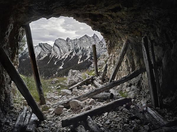 © Luca Campigotto. Monte Cristallo.