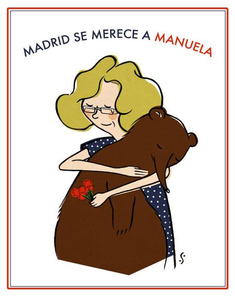 Manuela Carmena, candidata a la alcaldía Madrid por Ahora Madrid