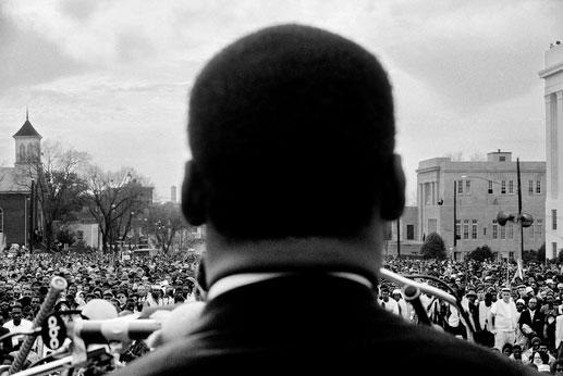 Martin Luther King. Foto Stephen Somerstein
