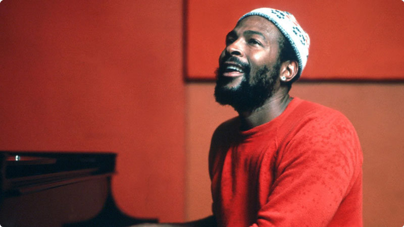 Marvin Gaye. Let's get it on