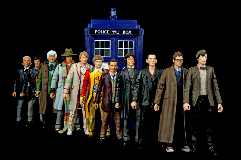 The Doctor Who. Serie TV
