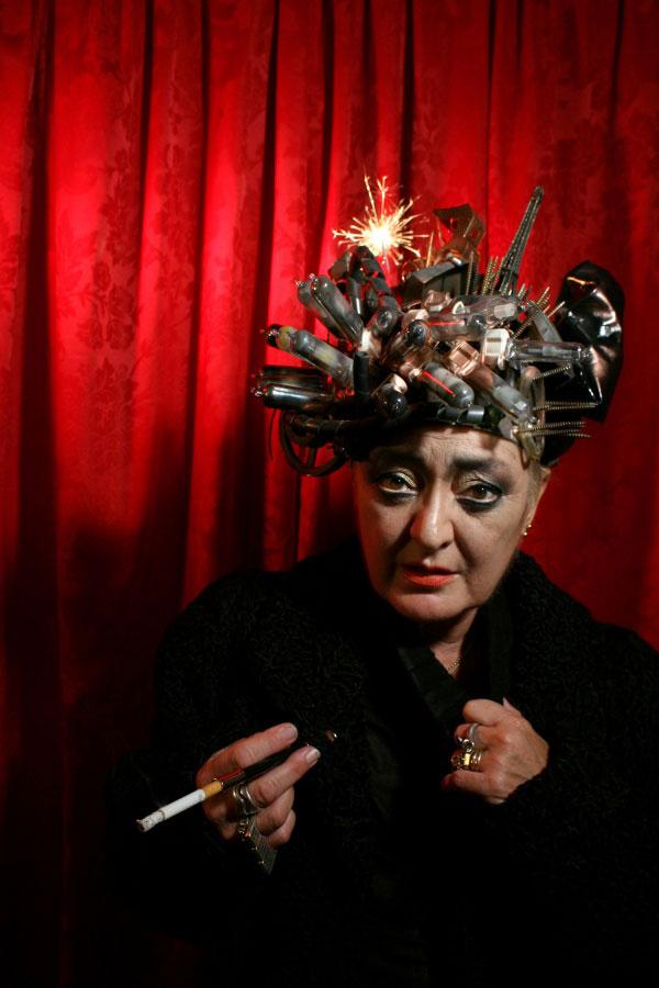 Olga Poliakoff, por Luis Montolio