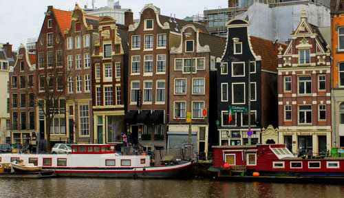 Fotografía ciudad holandesa