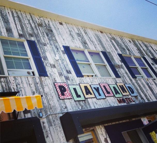 Playland Motel Rockaway Beach