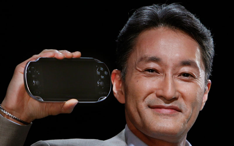 PlayStation portable. Kaz Hirai