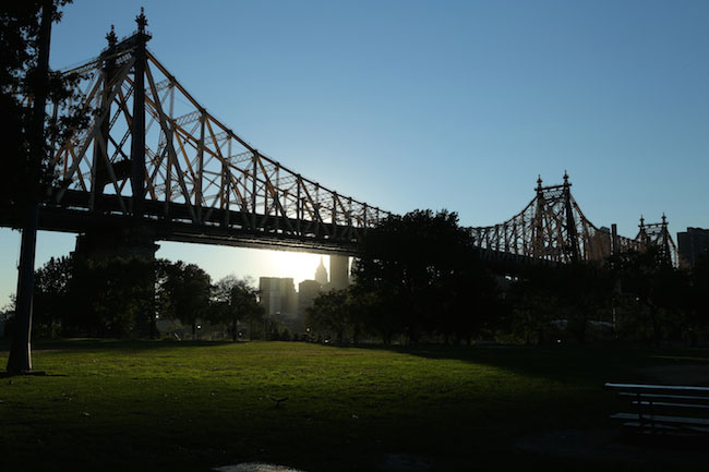Queensboro Bridge Park. Foto: Tom Perry.