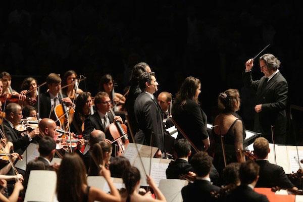 ©Silvia Lelli. Un momento del Réquiem de Verdi dirigido por Riccardo Muti