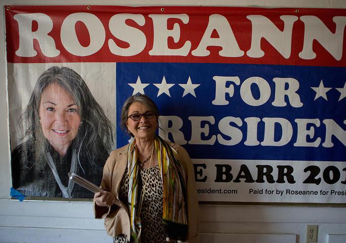 Roseanne for President! (2015, Eric Weinrib)