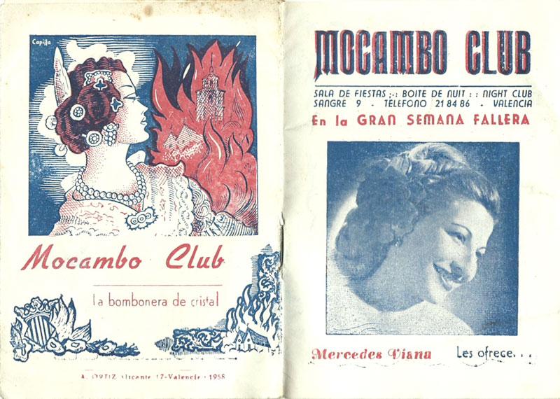 Sala Mocambo en los 50