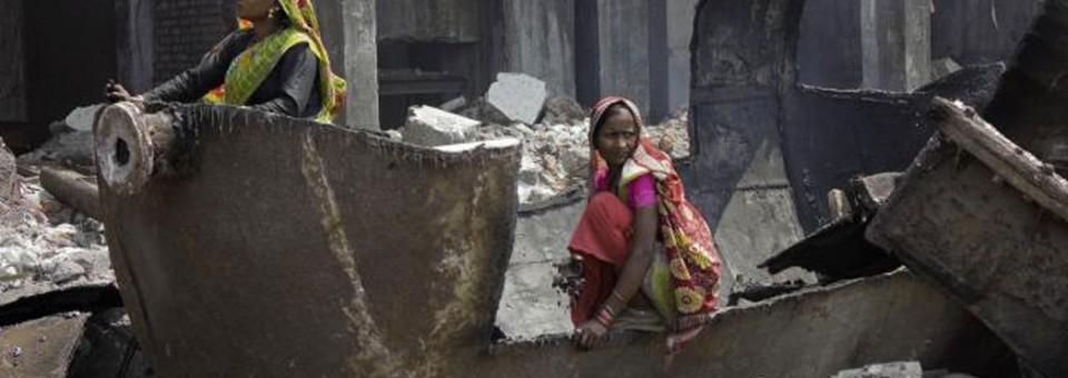 La mirada de la mujer en India