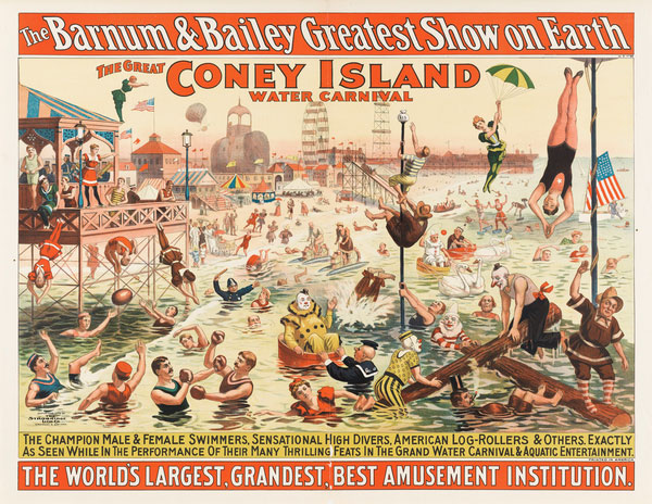 The Barnum & Bailey Greatest Show on Earth. Coney Island