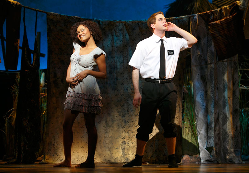 "Musical ""The book of Mormon"""