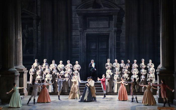 ©Brescia/Amisano. Escena final del Lucio Silla en La Scala 2015