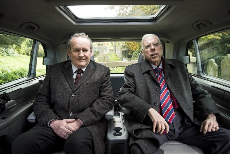 Timothy Spall y Colm Meaney en The Journey de Nick Hamm
