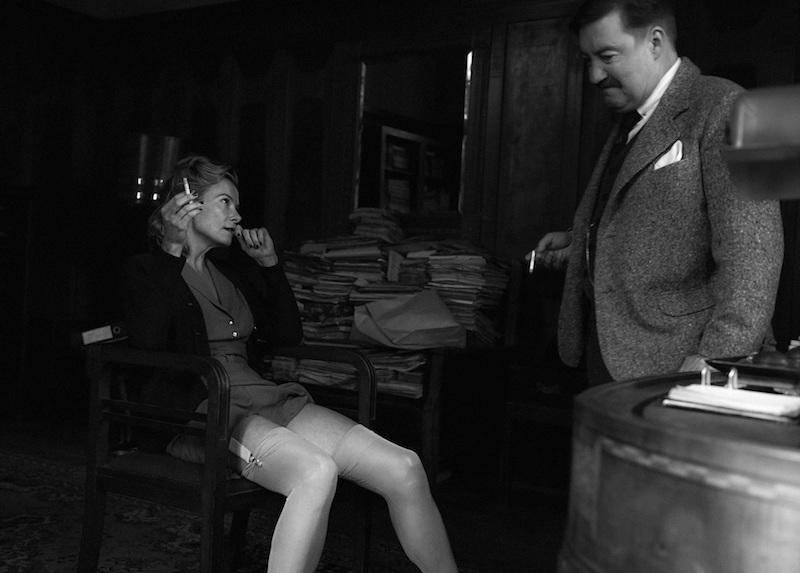 Yulia Vystskaya y Philippe Duquesne en una escena de Paradis de Andrei Konchalovsky